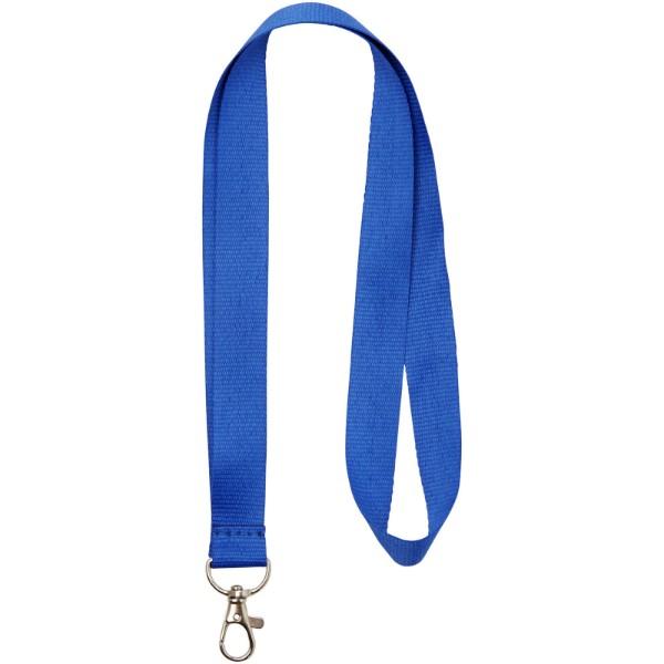 Lanyard Impey s praktickým háčkem - Světle modrá