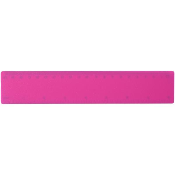 Rothko 20 cm plastic ruler - Magenta