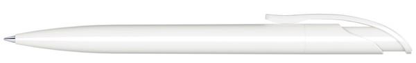 Senator® Challenger Polished, Push Ball Pen - White