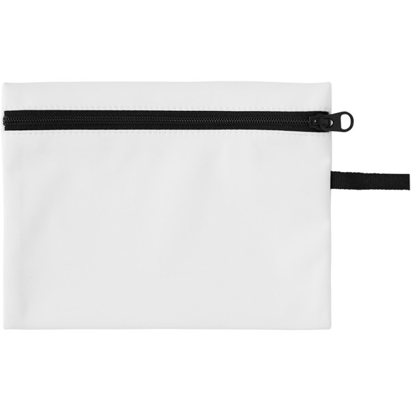 Bay face mask pouch - White