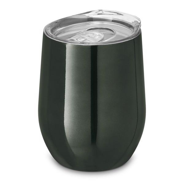 RONDE. Travel cup 400 ml - Gun Metal