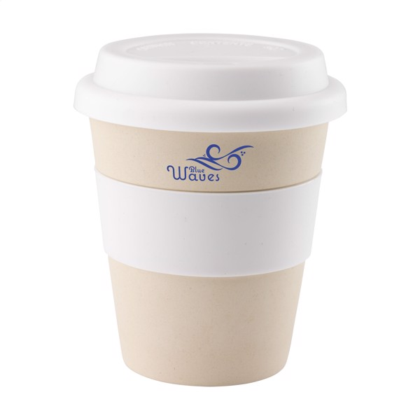 Eco Bamboo Mug-to-Go cup - White