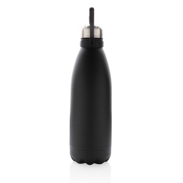Velká termo láhev 1,5L - Černá