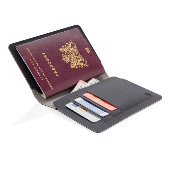Etui za potni list z RFID zaščito Quebec
