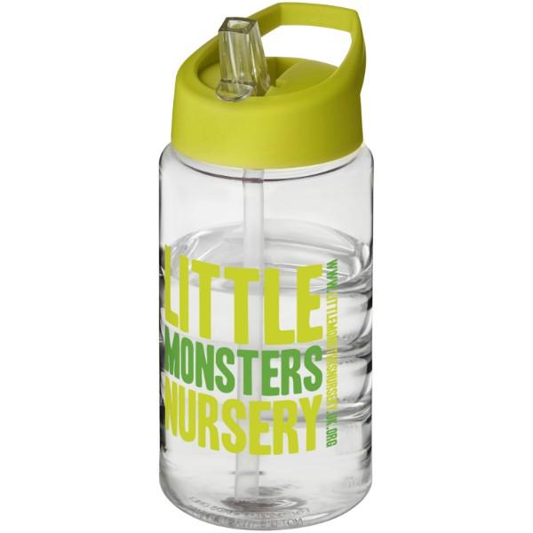 H2O Bop 500 ml Sportflasche mit Ausgussdeckel - Limone