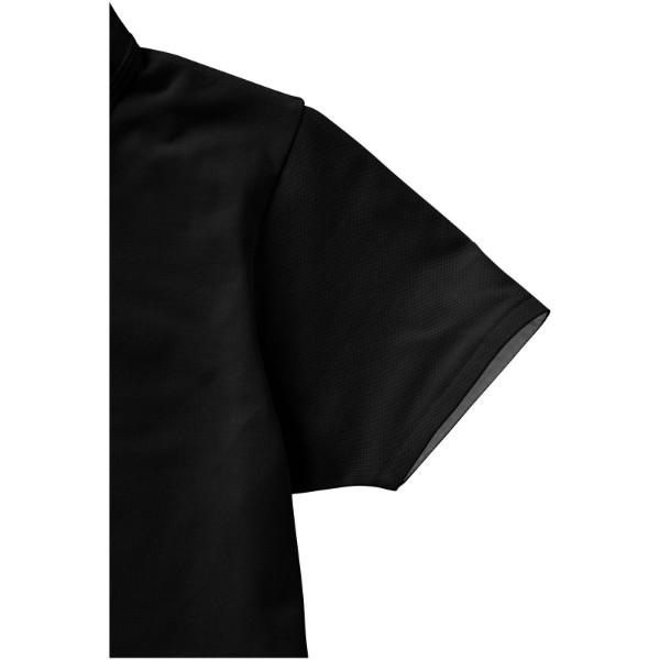 Polokošile Hacker s krátkým rukávem - Černá / Šedá / XL