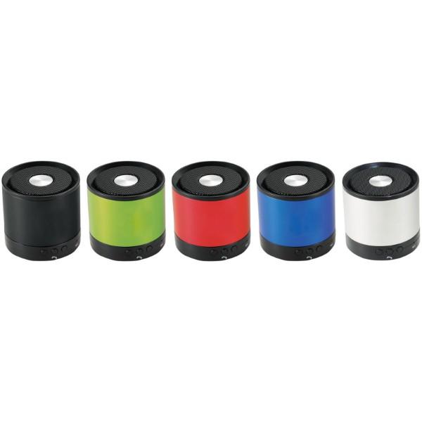 Hliníkový reproduktor Bluetooth® Greedo - Červená s efektem námrazy