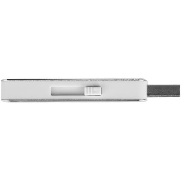 Glide 4GB USB flash drive - Silver
