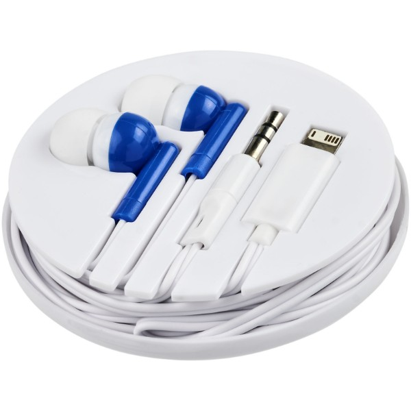 Switch earbuds with multi tips - Royal blue