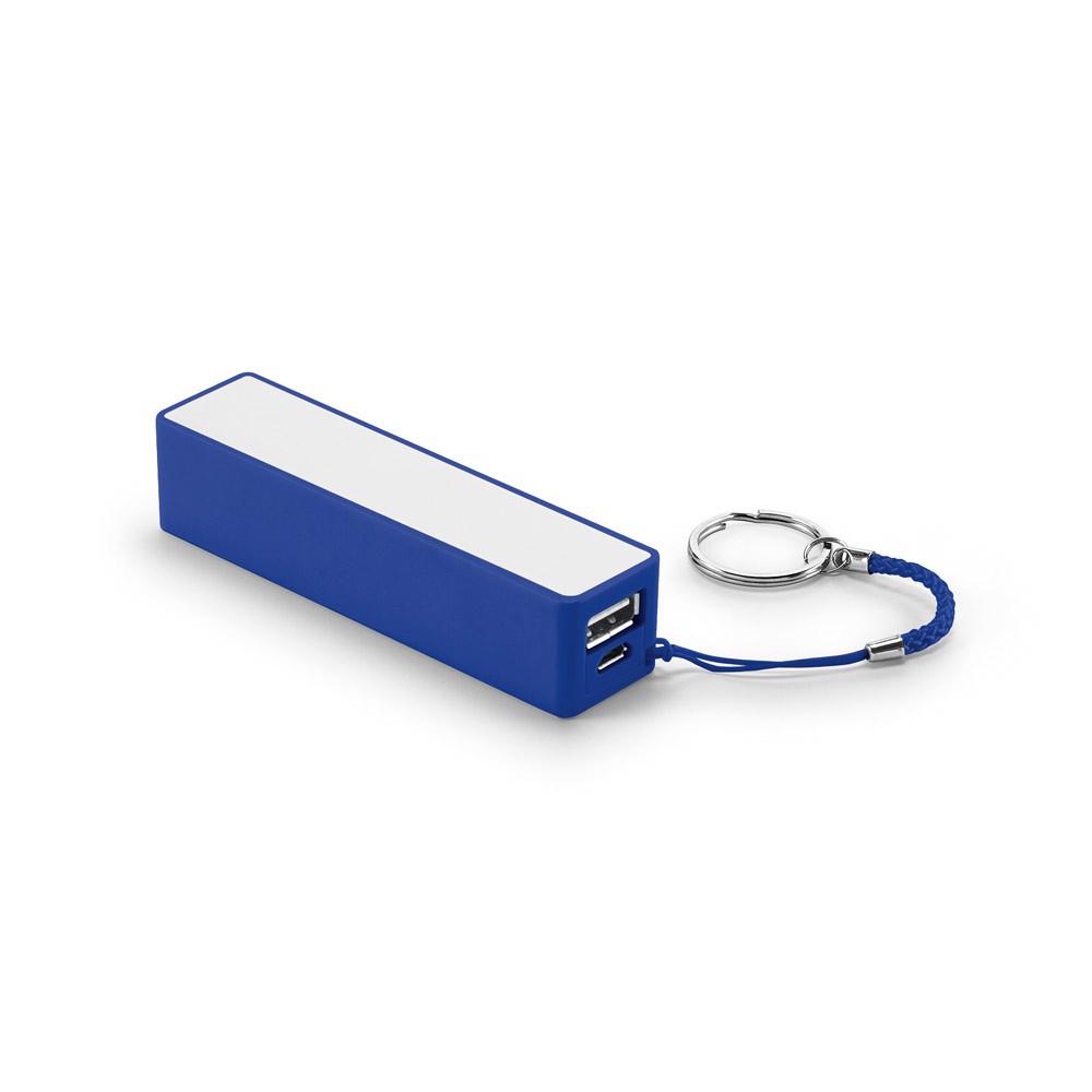 GIBBS. Φορητή μπαταρία 2'000 mAh - Μπλε Ρουά