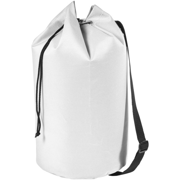 Montana sailor duffel bag - White