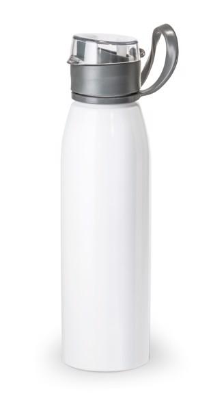 KORVER. Sportovní láhev 650 ml - Bílá