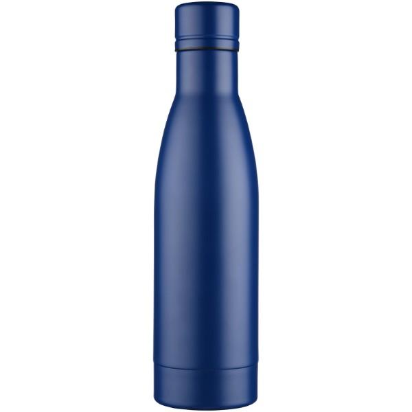 Vasa Kupfer-Vakuum Isolierflasche mit Bürste - Blau