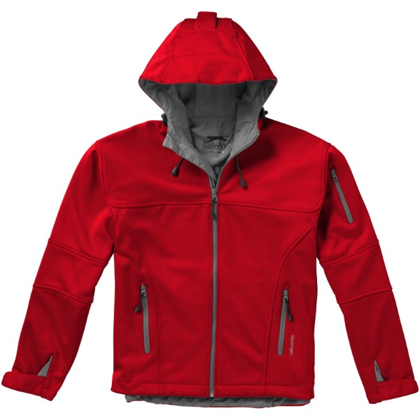 Match softshell jacket - Red / S