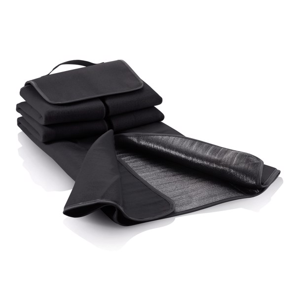 Pikniková deka - Černá