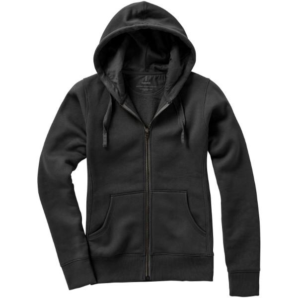 Arora hooded full zip ladies sweater - Anthracite / M