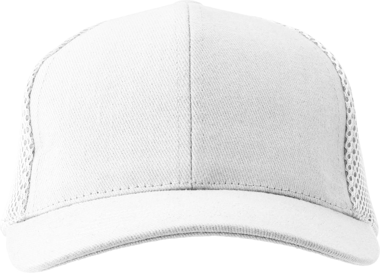 100% cotton twill cap - White