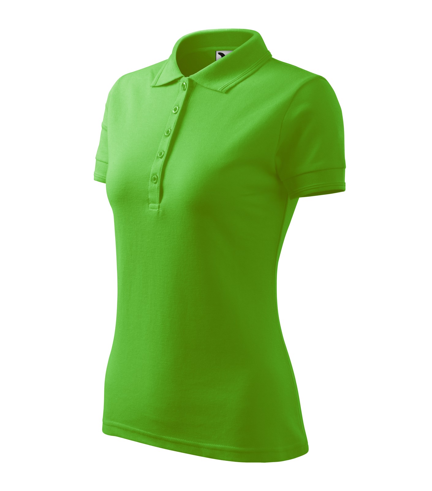 Polo Shirt Ladies Malfini Pique Polo - Apple Green / XL