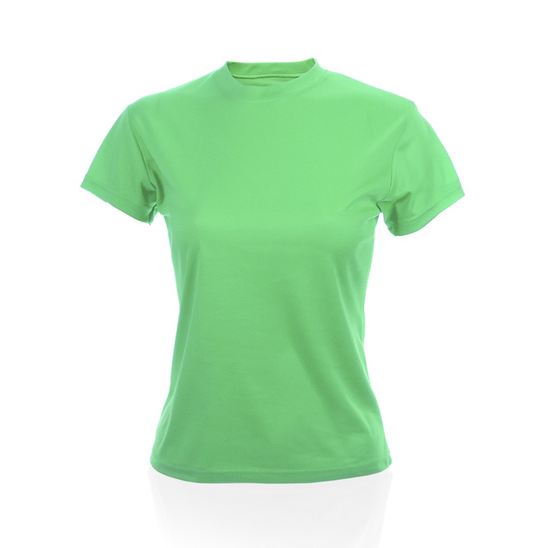 Camiseta Mujer Tecnic Plus - Verde Claro / XL