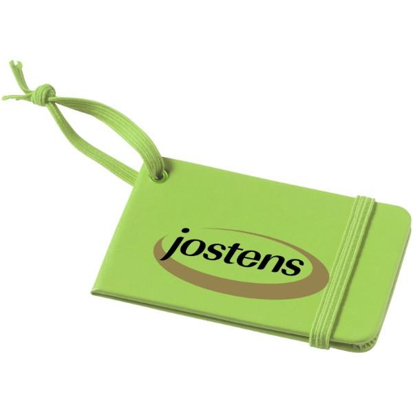 Tripz luggage tag - Lime