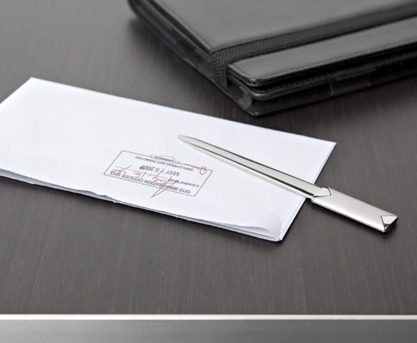 Metal letter opener