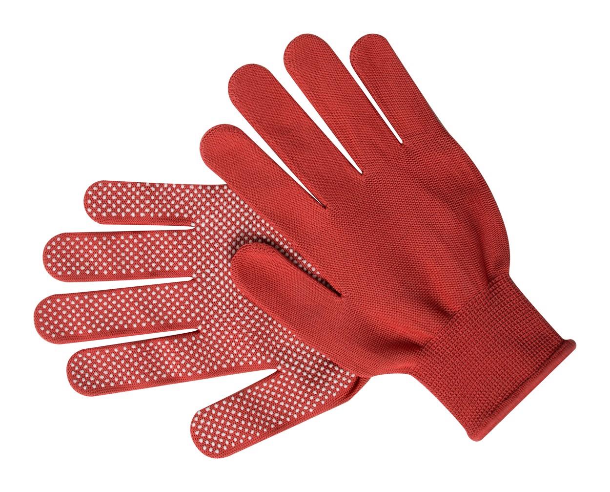 Gloves Hetson - Red