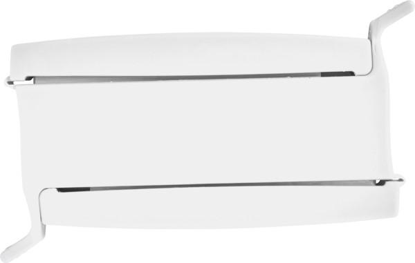 Plastic sealing clip - White
