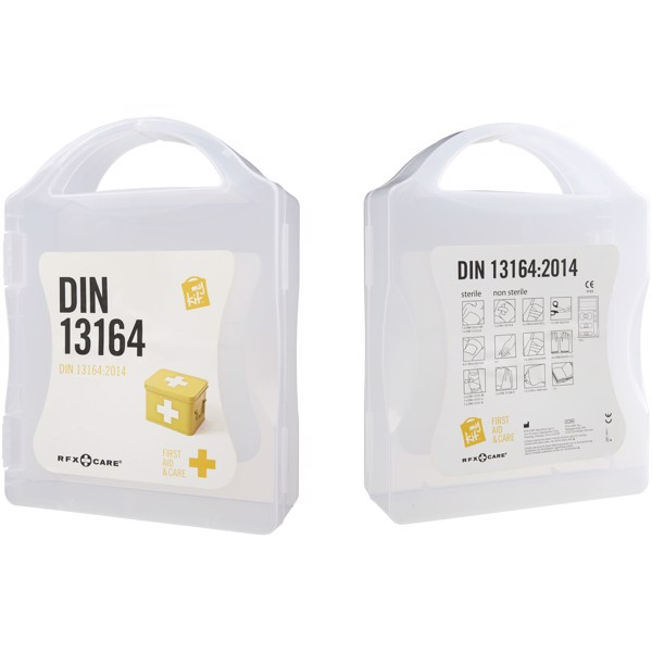 MyKit DIN first aid kit - White