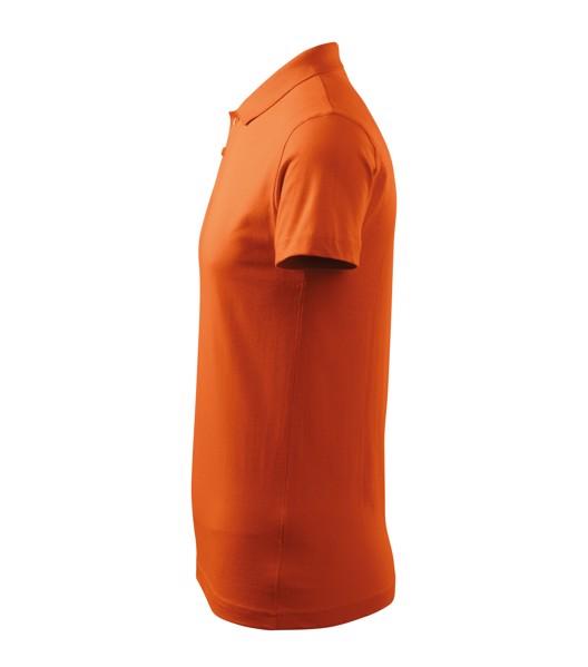 Polokošile pánská Malfini Single J. - Oranžová / 2XL