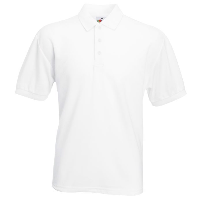 Polokošile piqué 65/35 Blended Polo 63-402-0 - White / 5XL