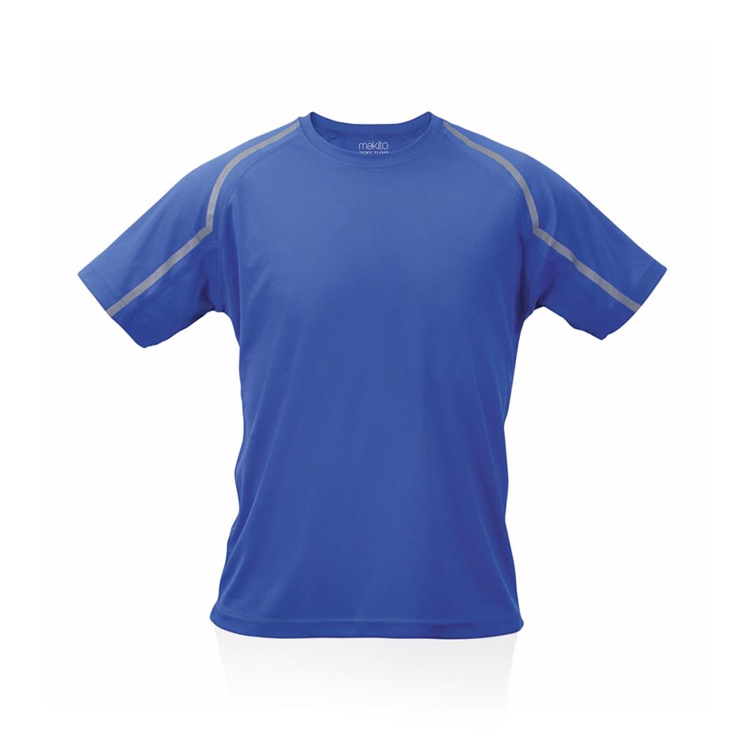 Camiseta Adulto Tecnic Fleser - Azul / XL
