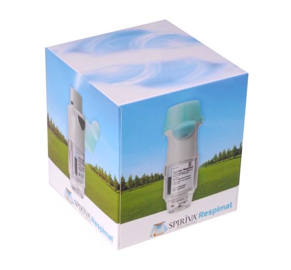 Papírové kapesníčky v krabičce (krychle) s vlastním potiskem 11x11x12 cm