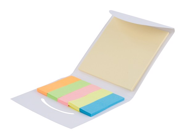 Adhesive Notepad Covet - White