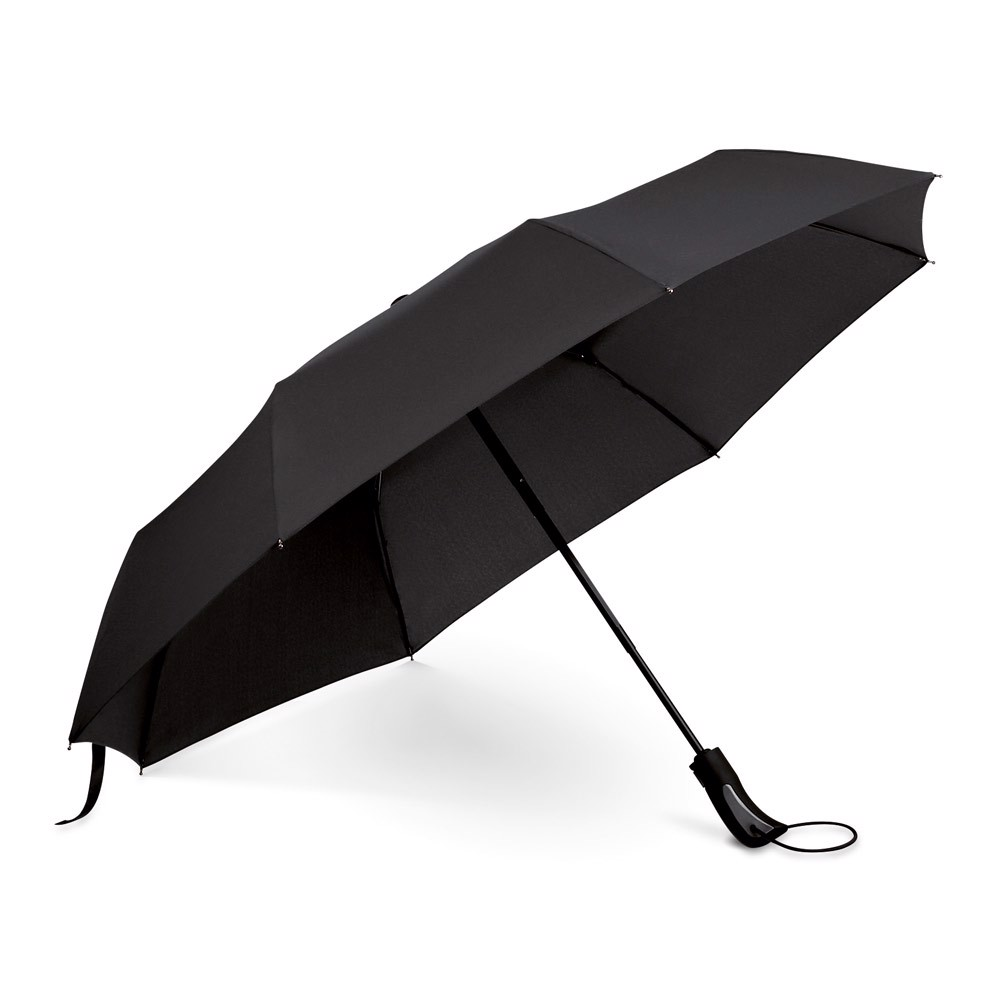 CAMPANELA. Umbrella with automatic opening and closing - Black