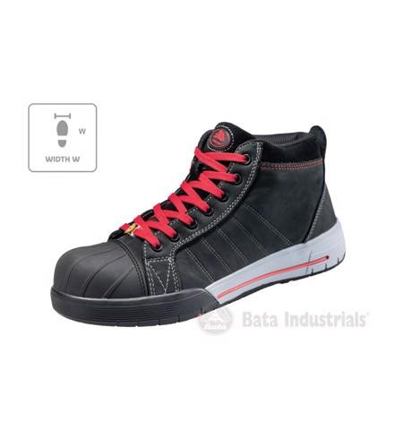 Kotníkové unisex Bataindustrials Bickz 733 W