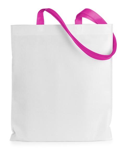 Nákupní Taška Rambla - Bílá / Růžová