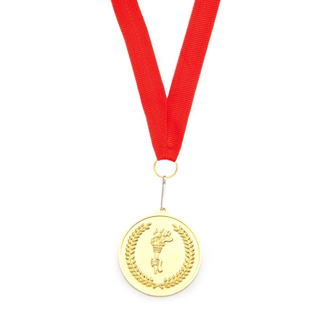 Medalla Corum - Rojo / Oro