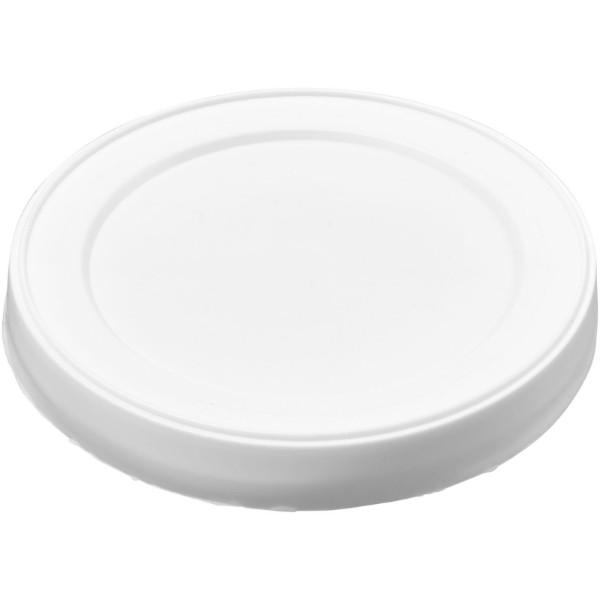 Plastová víčka na plechovky Seal - Bílá