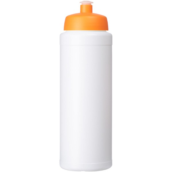 Baseline® Plus 750 ml bottle with sports lid - White / Orange