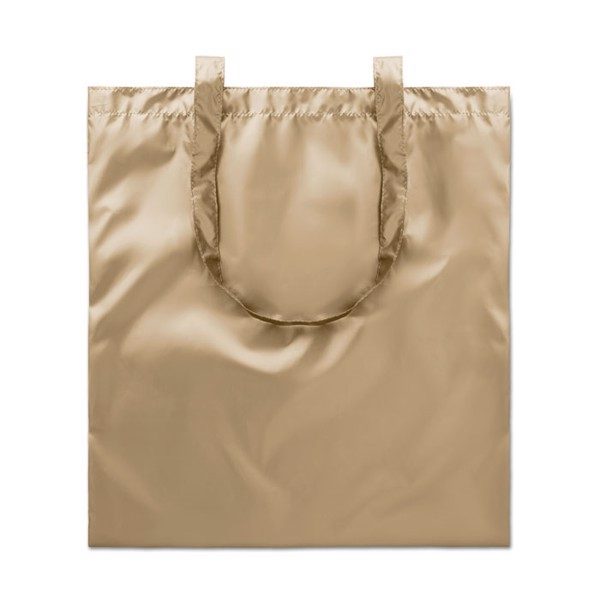 Shopping bag shiny coating Tote New York