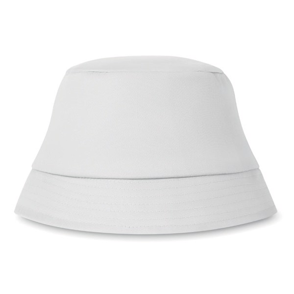 Cotton sun hat 160 gr/m² Bilgola - White