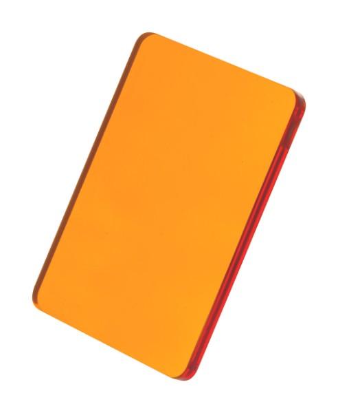 Přívěšek Na Klíče CreaFob - Průhledná Oranžová