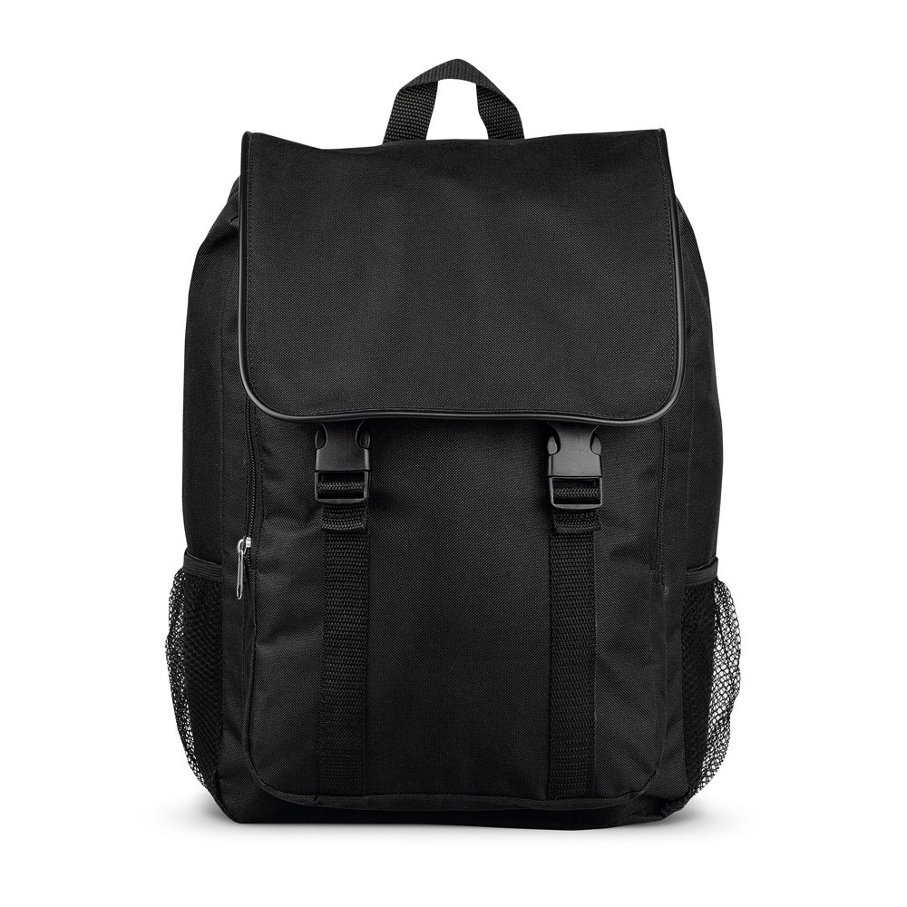 HEDY. Backpack in polyester 600D - Black