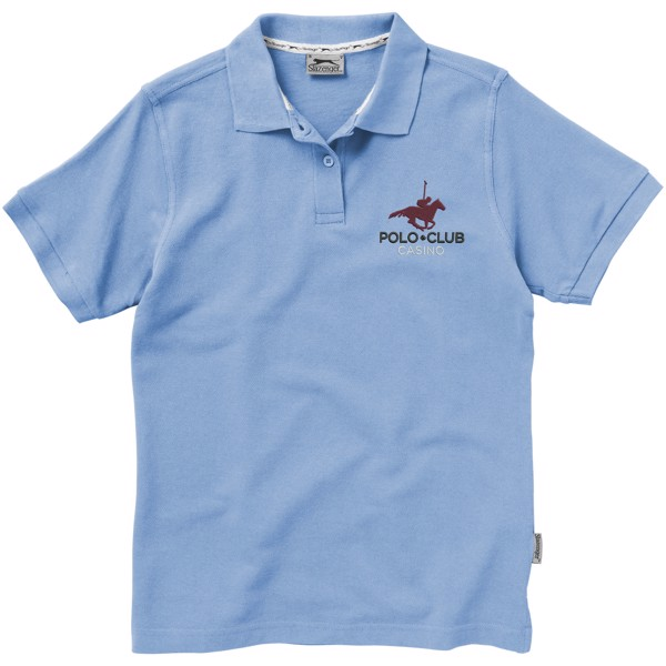 Forehand short sleeve ladies polo - Light Blue / S