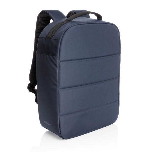 """Nedobytný batoh na 15,6"""" notebook Impact z RPET AWARE™ - Námořní Modř"""