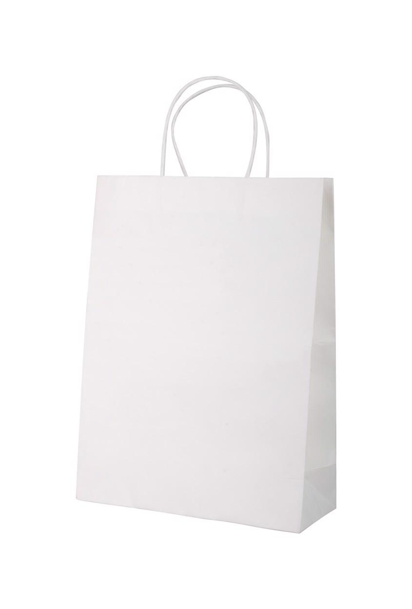 Sacosa Din Hartie Store - Alb