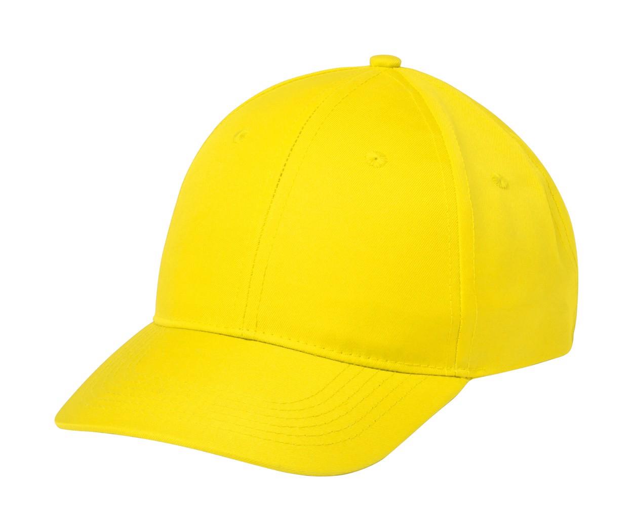 Baseballová Čepice Blazok - Žlutá