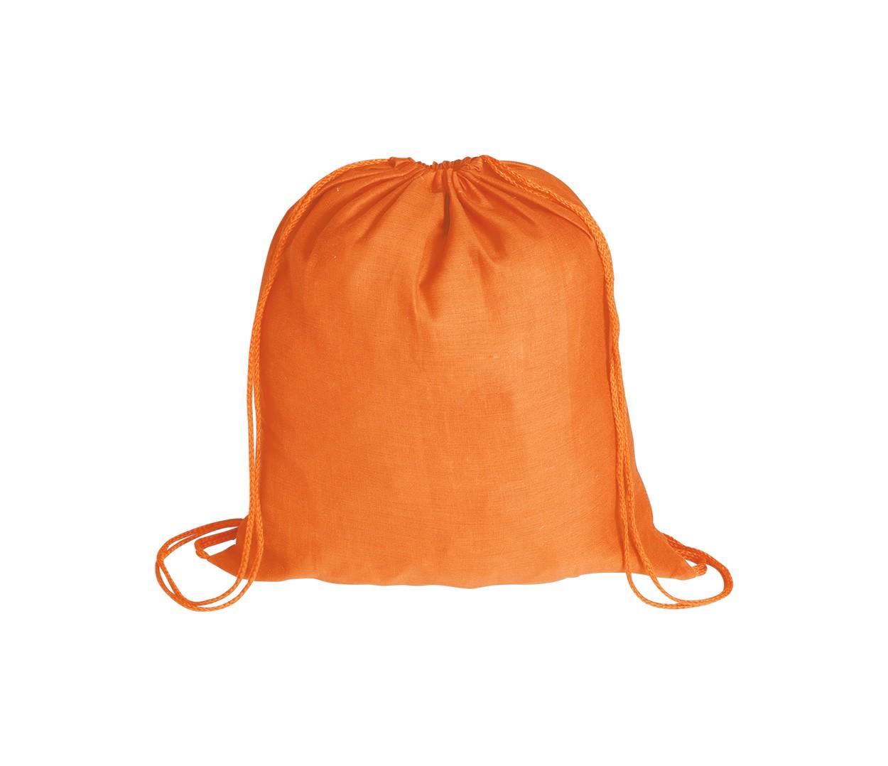 Vak Na Stažení Šňůrkou Bass - Oranžová