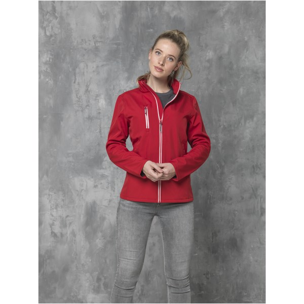 Orion women's softshell jacket - Orange / L
