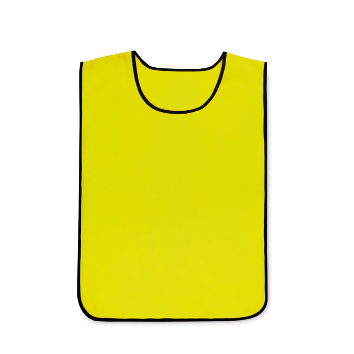 Polyester sports vest Play Vest - Yellow